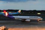 よしポンさんが、成田国際空港で撮影したハワイアン航空 A330-243の航空フォト(写真)