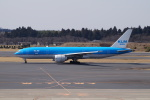 -RYO-さんが、成田国際空港で撮影したKLMオランダ航空 777-206/ERの航空フォト(写真)