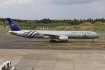 ぽんさんが、成田国際空港で撮影したKLMオランダ航空 777-306/ERの航空フォト(写真)