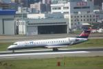 meijeanさんが、福岡空港で撮影したアイベックスエアラインズ CL-600-2C10 Regional Jet CRJ-702ERの航空フォト(写真)