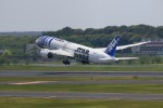 ☆ライダーさんが、成田国際空港で撮影した全日空 787-9の航空フォト(写真)