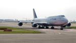 誘喜さんが、羽田空港で撮影したルフトハンザドイツ航空 747-830の航空フォト(写真)