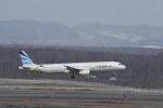 くーぺいさんが、新千歳空港で撮影したエアプサン A321-231の航空フォト(写真)