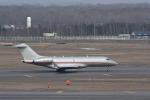くーぺいさんが、新千歳空港で撮影したビスタジェット BD-700-1A10 Global 6000の航空フォト(写真)
