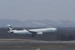 くーぺいさんが、新千歳空港で撮影したキャセイパシフィック航空 A330-343Xの航空フォト(写真)