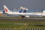 ぽんさんが、成田国際空港で撮影した中国国際航空 737-86Nの航空フォト(写真)