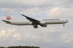 ぽんさんが、成田国際空港で撮影した日本航空 777-346/ERの航空フォト(写真)