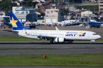 ryo1007さんが、福岡空港で撮影したスカイマーク 737-81Dの航空フォト(写真)