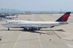 Wings Flapさんが、中部国際空港で撮影したデルタ航空 747-451の航空フォト(写真)