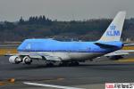 狭心症さんが、成田国際空港で撮影したKLMオランダ航空 747-406Mの航空フォト(写真)
