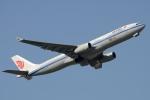 木人さんが、成田国際空港で撮影した中国国際航空 A330-343Eの航空フォト(写真)