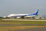 さっしんさんが、名古屋飛行場で撮影したエアーニッポン A320-211の航空フォト(写真)
