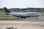 A350XWB-HNDさんが、成田国際空港で撮影したデルタ航空 747-451の航空フォト(写真)