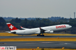 狭心症さんが、成田国際空港で撮影したスイスインターナショナルエアラインズ A340-313Xの航空フォト(写真)
