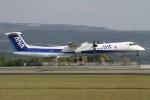 RJFT Spotterさんが、熊本空港で撮影したANAウイングス DHC-8-402Q Dash 8の航空フォト(写真)