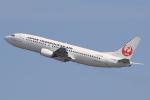 なぁちゃんさんが、関西国際空港で撮影した日本トランスオーシャン航空 737-446の航空フォト(写真)