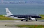 CB20さんが、関西国際空港で撮影したスターフライヤー A320-214の航空フォト(写真)