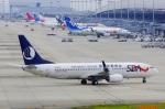 CB20さんが、関西国際空港で撮影した山東航空 737-85Nの航空フォト(写真)