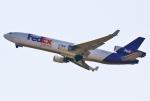 あしゅーさんが、関西国際空港で撮影したフェデックス・エクスプレス MD-11Fの航空フォト(写真)