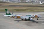 プルシアンブルーさんが、仙台空港で撮影したエバー航空 A321-211の航空フォト(写真)