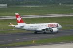 みっちゃんさんが、デュッセルドルフ国際空港で撮影したスイスインターナショナルエアラインズ BD-500-1A10 CSeries CS100の航空フォト(写真)