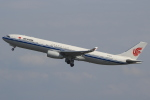 キイロイトリ1005fさんが、関西国際空港で撮影した中国国際航空 A330-343Xの航空フォト(写真)