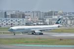 そらまめさんが、福岡空港で撮影したキャセイパシフィック航空 A330-343Xの航空フォト(写真)
