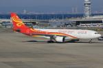キイロイトリ1005fさんが、関西国際空港で撮影した香港航空 A330-223の航空フォト(写真)