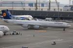 msrwさんが、羽田空港で撮影したルフトハンザドイツ航空 A340-642の航空フォト(写真)