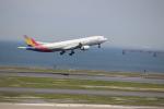 あんとろんさんが、羽田空港で撮影したアシアナ航空 A330-323Xの航空フォト(写真)