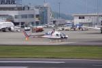 神宮寺ももさんが、高松空港で撮影した四国航空 AS350B3 Ecureuilの航空フォト(写真)