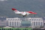 HLeeさんが、台北松山空港で撮影したホンダ・エアクラフト・カンパニー HA-420の航空フォト(写真)