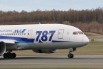 GRX135さんが、新千歳空港で撮影した全日空 787-8 Dreamlinerの航空フォト(写真)
