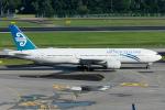 Tomo-Papaさんが、シンガポール・チャンギ国際空港で撮影したニュージーランド航空 777-219/ERの航空フォト(写真)