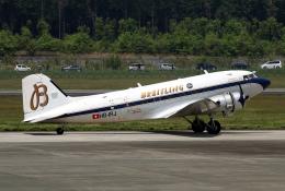 なごやんさんが、熊本空港で撮影したスーパーコンステレーション飛行協会 DC-3Aの航空フォト(写真)