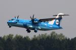 なごやんさんが、熊本空港で撮影した天草エアライン ATR-42-600の航空フォト(写真)