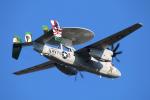 なごやんさんが、厚木飛行場で撮影したアメリカ海軍 E-2C Hawkeyeの航空フォト(写真)