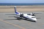 プルシアンブルーさんが、稚内空港で撮影したANAウイングス DHC-8-402Q Dash 8の航空フォト(写真)