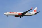 たっくさんが、成田国際空港で撮影したマリンド・エア 737-9GP/ERの航空フォト(写真)