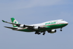 たっくさんが、成田国際空港で撮影したエバー航空 747-45Eの航空フォト(写真)