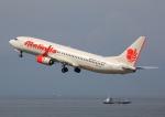 タミーさんが、中部国際空港で撮影したマリンド・エア 737-8GPの航空フォト(写真)