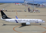 タミーさんが、中部国際空港で撮影した全日空 737-881の航空フォト(写真)