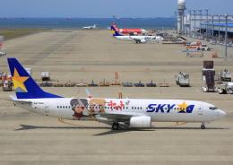 タミーさんが、中部国際空港で撮影したスカイマーク 737-86Nの航空フォト(写真)