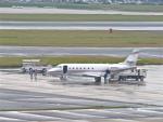 今ちゃんさんが、福岡空港で撮影したユタ銀行 Gulfstream G200の航空フォト(写真)