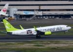 tuckerさんが、羽田空港で撮影したソラシド エア 737-86Nの航空フォト(写真)