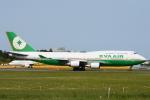 竜747さんが、成田国際空港で撮影したエバー航空 747-45Eの航空フォト(写真)