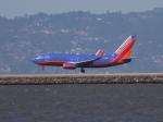 職業旅人さんが、サンフランシスコ国際空港で撮影したサウスウェスト航空 737-7H4の航空フォト(写真)