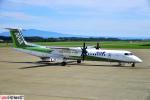 狭心症さんが、女満別空港で撮影したANAウイングス DHC-8-402Q Dash 8の航空フォト(写真)