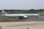 meijeanさんが、成田国際空港で撮影した日本航空 777-346/ERの航空フォト(写真)