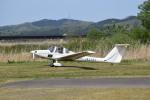フォークリフト操縦士さんが、角田滑空場で撮影した日本個人所有 G109Bの航空フォト(写真)